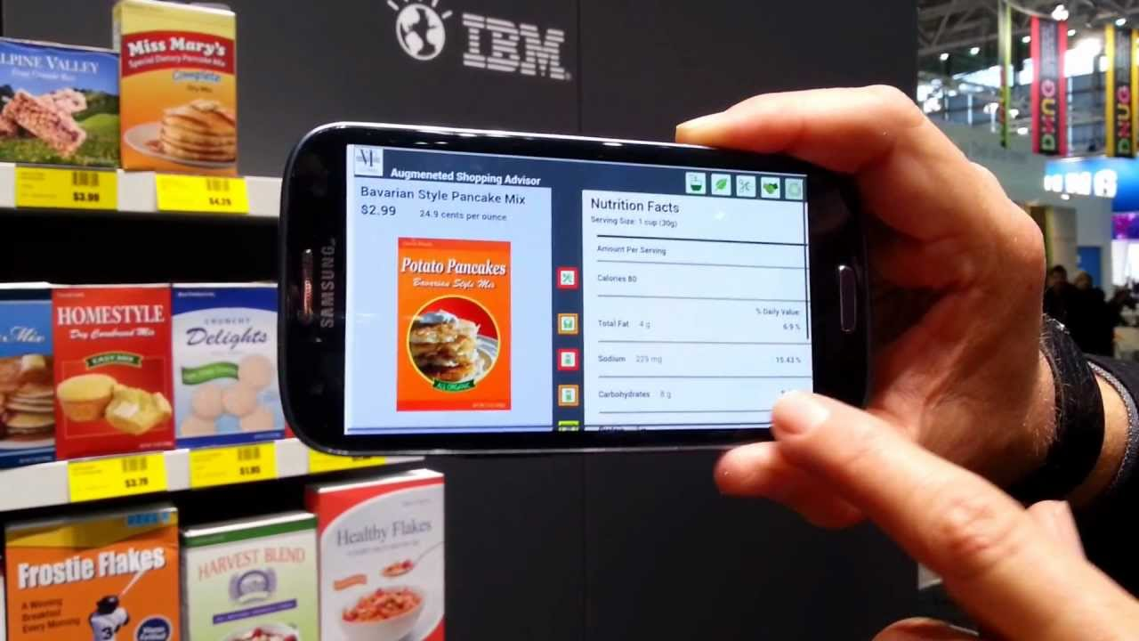 Marketing with augmented reality in retail