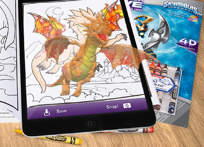 Augmented Reality Apps For Crayola Coloring Books