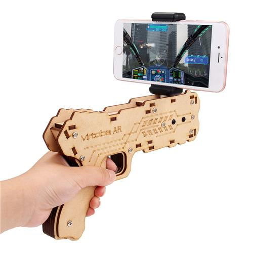 Toy Gun with Augmented Reality