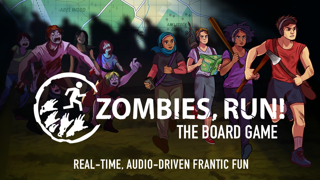 Zombies, Run fitness app for jogging fans