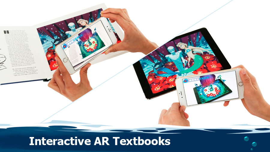 interactive AR textbooks