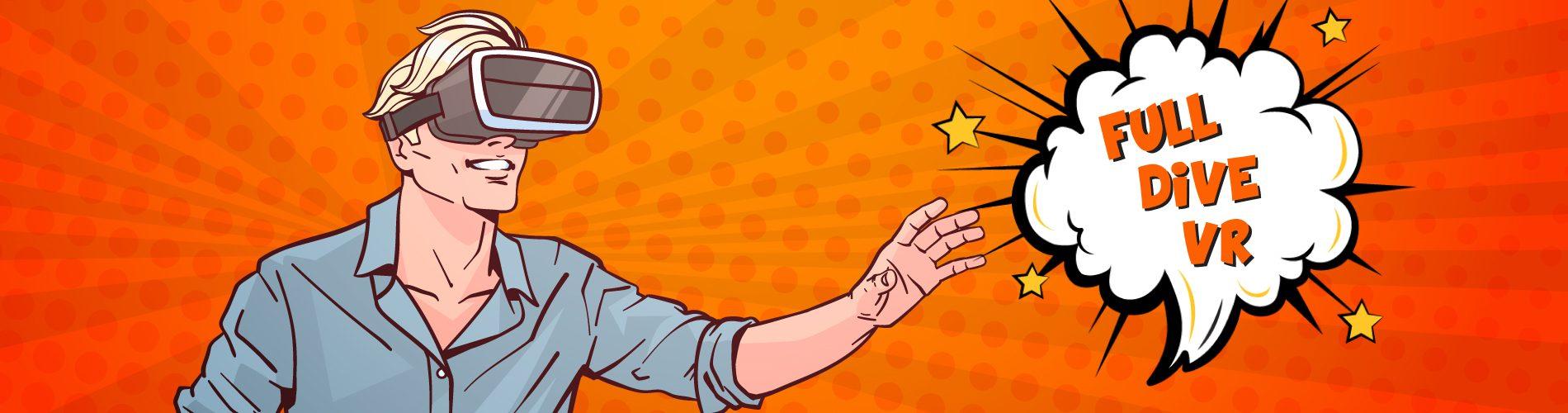 full dive virtual reality
